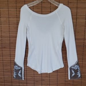 Free People  long sleeve thermo top M
